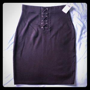 Charlotte Russe Black Pencil skirt